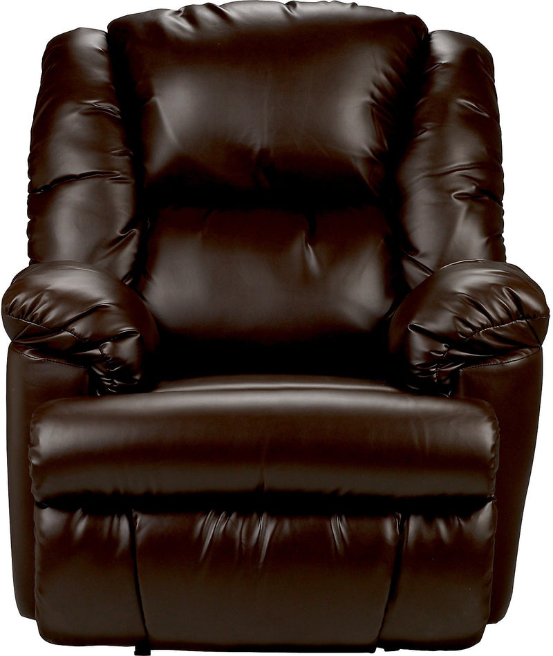 Bmaxx Bonded Leather Power Reclining Chair – Brown|Fauteuil à inclinaison électrique Bmaxx en cuir contrecollé – brun
