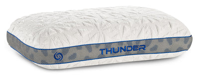 Bedgear™ Thunder 1.0 Advanced Position Pillow - Stomach Sleeper|Oreiller de positionnement avancéMD Thunder 1.0 de BedgearMC - pour dormeur sur le ventre|BFP42SSL