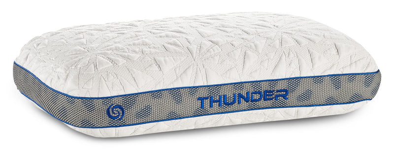 Bedgear™ Thunder 1.0 Advanced Position Pillow - Stomach Sleeper|Oreiller de positionnement avancéMD Thunder 1.0 de BedgearMC - pour dormeur sur le ventre