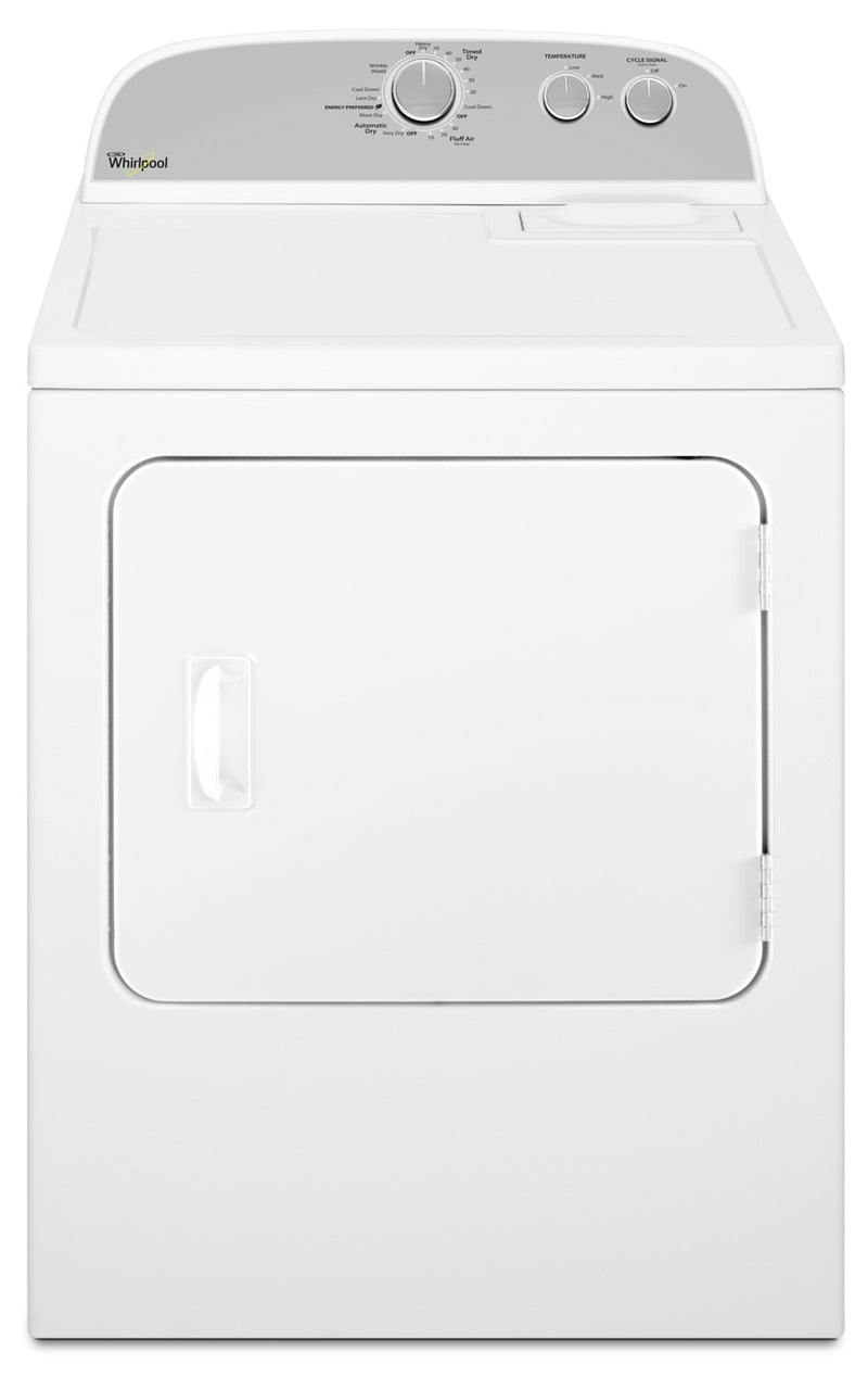 Whirlpool 7.0 Cu. Ft. Electric Dryer – YWED4815EW|Sécheuse électrique Whirlpool de 7,0 pi3 – YWED4815EW|YWED481W