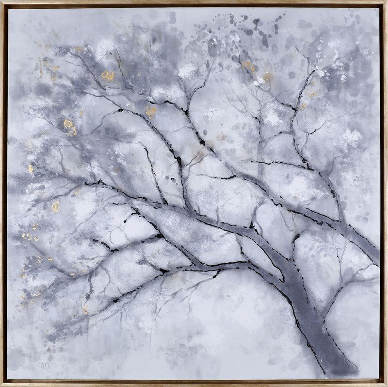 "Shadow Tree I – 37.5"" x 37.5""
