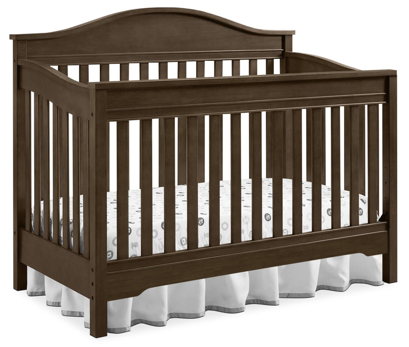Laney 3-in-1 Convertible Crib – Rustic Grey|Lit de bébé Laney convertible 3 en 1 - gris rustique