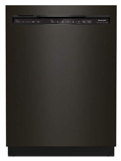 KitchenAid Front-Control Dishwasher with FreeFlex™ Third Rack - KDFM404KBS|Lave-vaisselle KitchenAid avec commandes à l'avant et 3e panier FreeFlexMC - KDFM404KBS|KDFM40KB