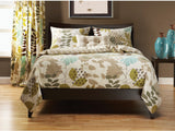 English Garden 4 Piece Queen Duvet Cover Set