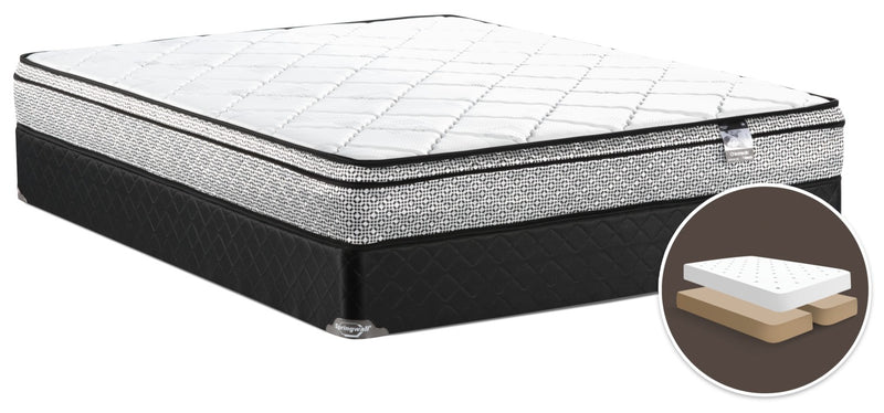 Springwall Odin 3 Euro-Top Firm Split Queen Mattress Set|Ensemble matelas ferme à Euro-plateau divisé Odin 3 de Springwall pour grand lit