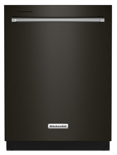 KitchenAid Top-Control Dishwasher with FreeFlex™ Third Rack - KDTM404KBS|Lave-vaisselle KitchenAid avec commandes sur le dessus et 3e panier FreeFlexMC - KDTM404KBS|KDTM40KB