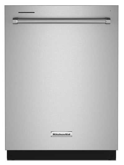 KitchenAid Top-Control Dishwasher with FreeFlex™ Third Rack - KDTM404KPS|Lave-vaisselle KitchenAid avec commandes sur le dessus et 3e panier FreeFlexMC - KDTM404KPS|KDTM40KS