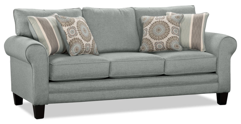 Tula Fabric Sofa Mist The Brick