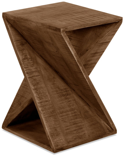Kelso Side Table - Natural Wood