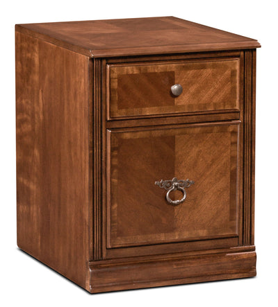 Hamlyn Filing Cabinet - Contemporary style Filing Cabinet in Light Brown