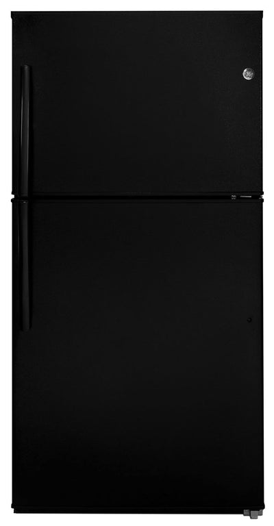 GE 21.2 Top-Freezer Refrigerator – GTE21GTHBB - Refrigerator in Black