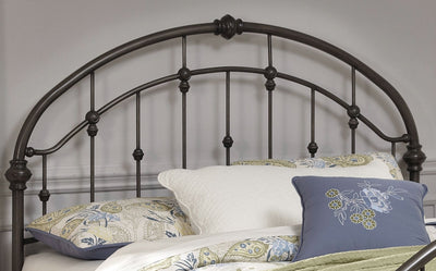 Nashburg Queen Metal Headboard – Bronze - Traditional style Headboard in Bronze Metal