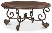 Cordoba Coffee Table – Dark Brown|Table à café Cordoba – brun foncé