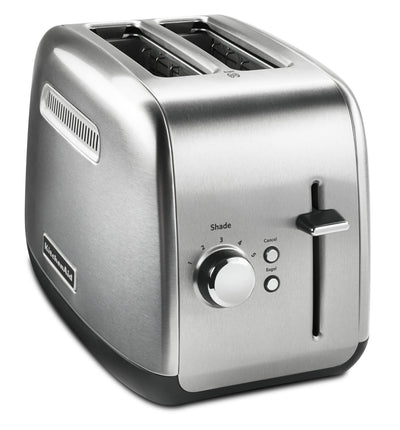 KitchenAid 2-Slice Toaster with High-Lift Lever - KMT2115SX|Grille-pain à 2 tranches KitchenAid avec levier de remontée haute - KMT2115SX|KMT2115S