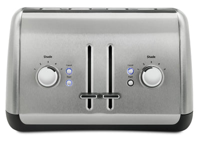 KitchenAid 4-Slice Toaster with High-Lift Lever - KMT4115SX - Toaster in Brushed Stainless Steel