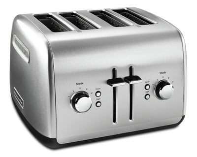 KitchenAid 4-Slice Toaster with High-Lift Lever - KMT4115SX|Grille-pain à 4 tranches KitchenAid avec levier de remontée haute - KMT4115SX