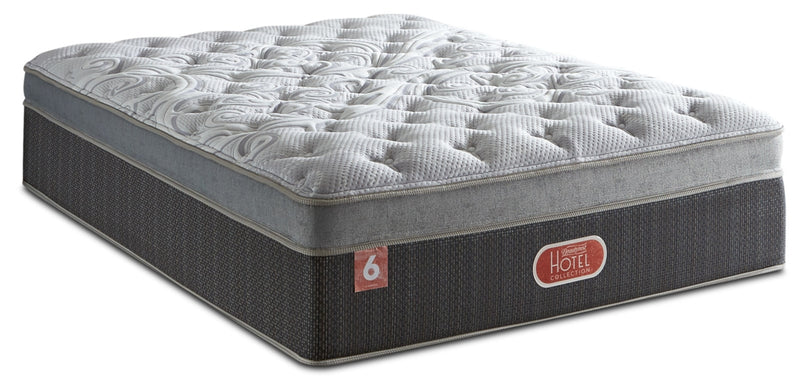 Beautyrest® Hotel Diamond 6 Plush Ultra Euro-Top Twin XL Mattress|Matelas moelleux à Euro-plateau épais Hotel Diamond 6 de Beautyrest pour lit simple très long