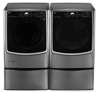 LG TWIN Wash™ 5.2 Cu. Ft. Front-Load Washer, Pedestal Washer and 9.0 Cu. Ft. Electric Dryer