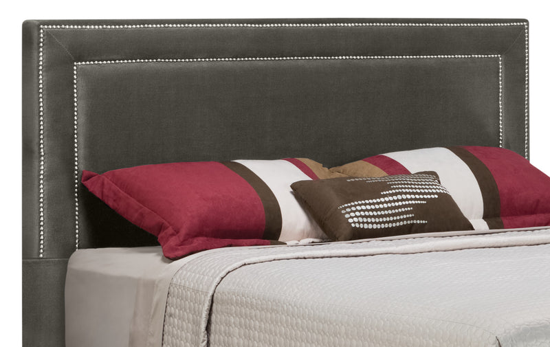 Amber King Headboard - Charcoal|Tête de lit Amber pour très grand lit - anthracite