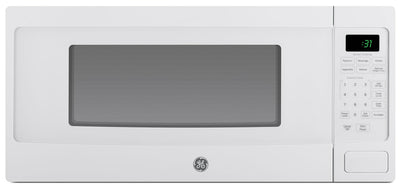 GE Spacemaker 1.1 Cu. Ft. Countertop Microwave – PEM10WFC - Countertop Microwave in White