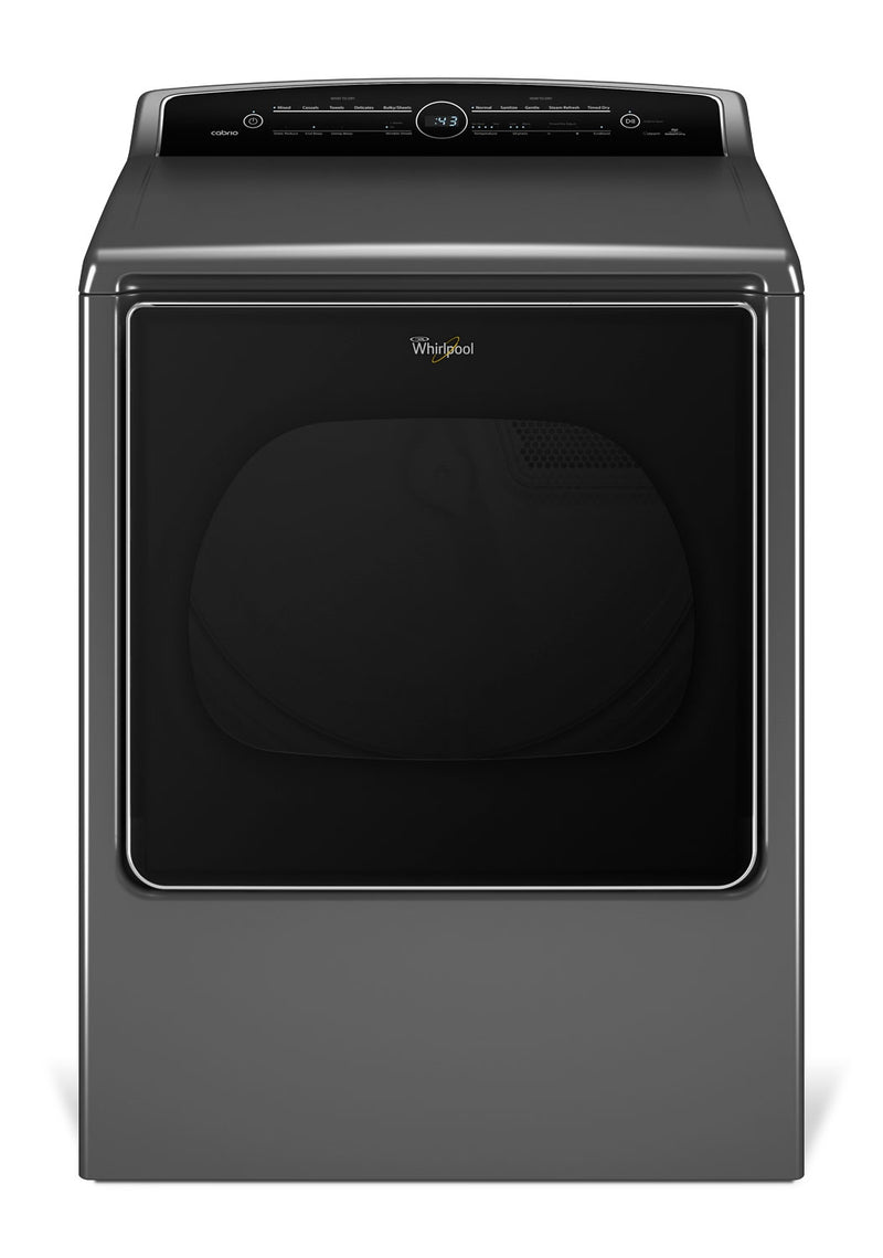 Whirlpool Cabrio® 8.8 Cu. Ft. Electric Steam Dryer – YWED8500DC|Sécheuse vapeur électrique de 8.8 pi3 Whirlpool CabrioMD  - YWED8500DC