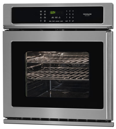 Frigidaire Gallery 3.8 Cu. Ft. Single Wall Oven – FGEW276SPF - Electric Wall Oven in Stainless Steel