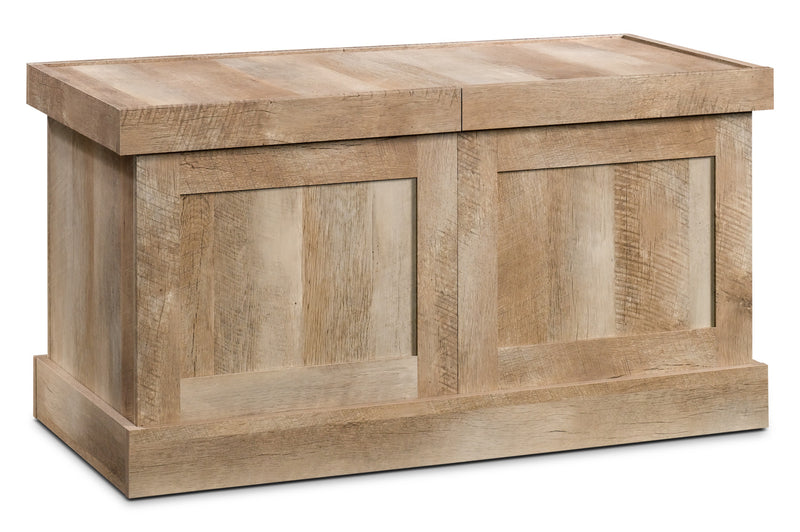 Cannery Bridge Crate Coffee Table – Lintel Oak|Table à café caisse Cannery Bridge