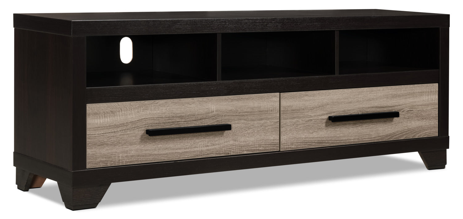 Glendale 60 Tv Stand Rustic The Brick