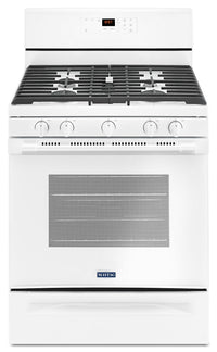 Maytag 5.0 Cu. Ft. Freestanding Gas Range with Oval Burner – MGR6600FW