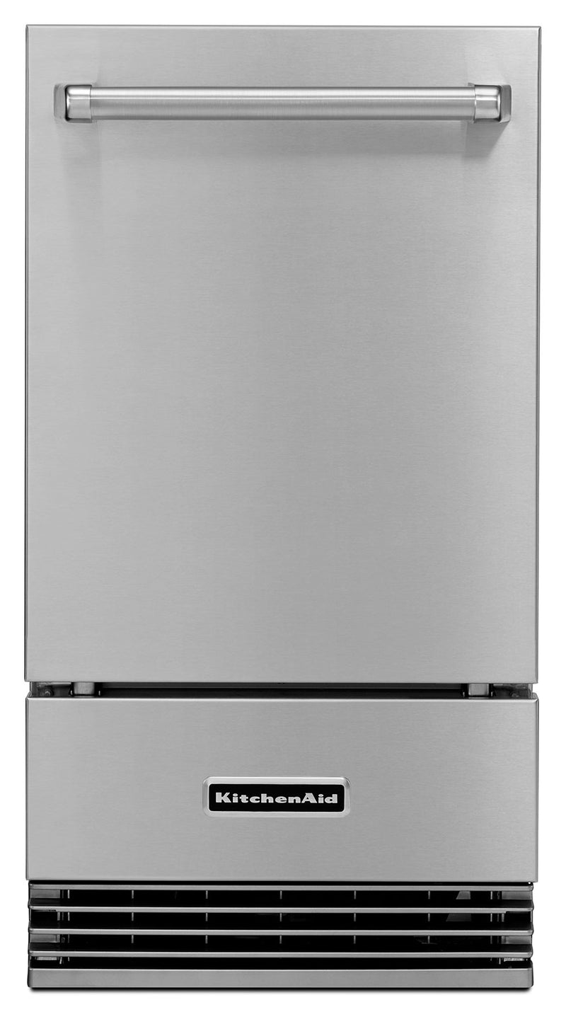 "KitchenAid 18"" Outdoor Automatic Ice Maker – KUIO18NNZS