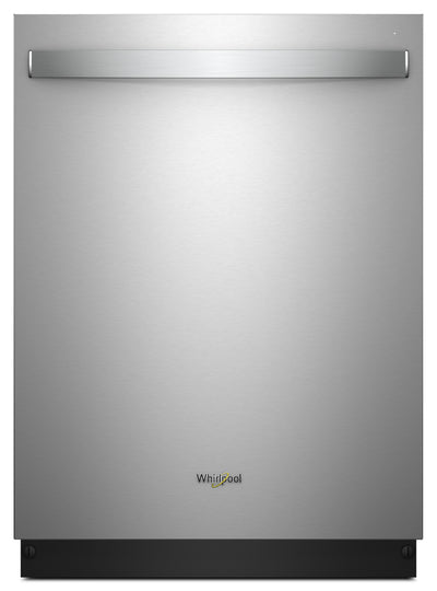 Whirlpool Stainless Steel Tub Dishwasher with Third Level Rack – WDT970SAHZ - Dishwasher in Stainless Steel