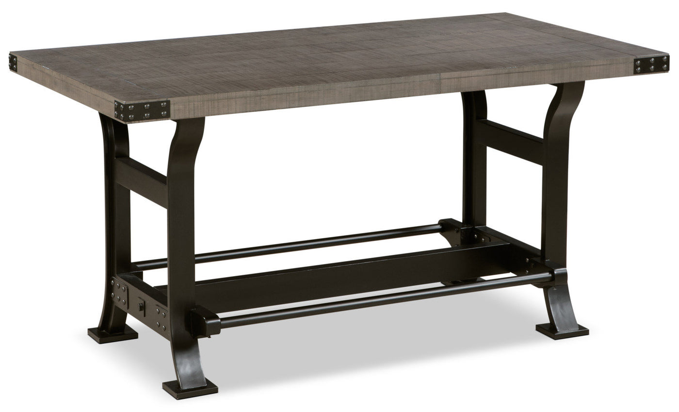 Ironworks Counter Height Dining Table The Brick