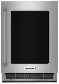 KitchenAid 5.1 Cu. Ft. Undercounter Refrigerator with Right-Door Swing – KURR304ESS|Réfrigérateur sous-le-comptoir avec charnière à droite de 5.1 pi3 KitchenAid - KURR304ESS