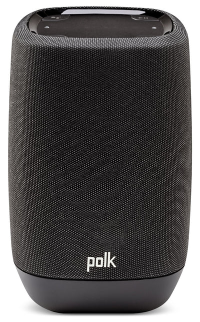 Polk Assist™ Smart Speaker with Built-in Google Assistant|Haut-parleur intelligent Polk Assist avec Assistant Google intégré|ASSISTBK