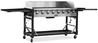 Grill Chef 116,000 BTU Propane Gas Barbecue - Barbecue in Stainless Steel