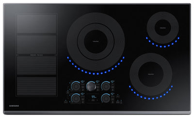 "Samsung 36"" Electric Induction Cooktop – NZ36K7880UG/AA - Electric Cooktop in Black"