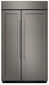 KitchenAid 30.0 Cu. Ft Built-In Side-by-Side Refrigerator – Panel Ready KBSN608EPA