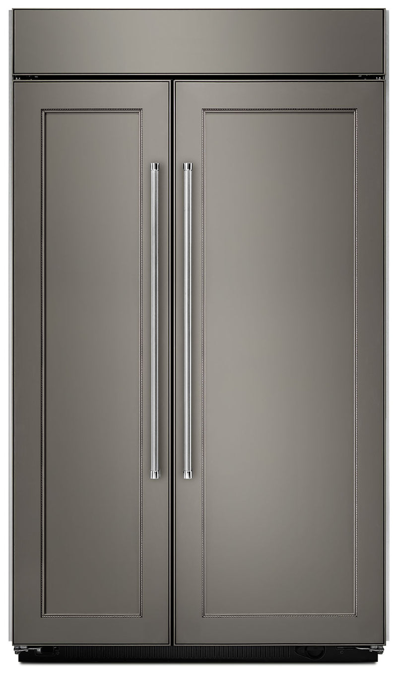 Kitchenaid 30 0 Cu Ft Built In Side By Side Refrigerator