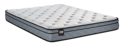 Sealy Essentials Lucente Eurotop Queen Mattress|Matelas à Euro-plateau Lucente Essentials de Sealy pour grand lit|LCENTEQM