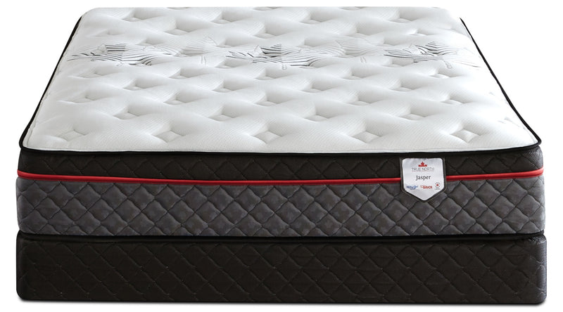 Springwall True North Jasper Euro Top Full Mattress Set