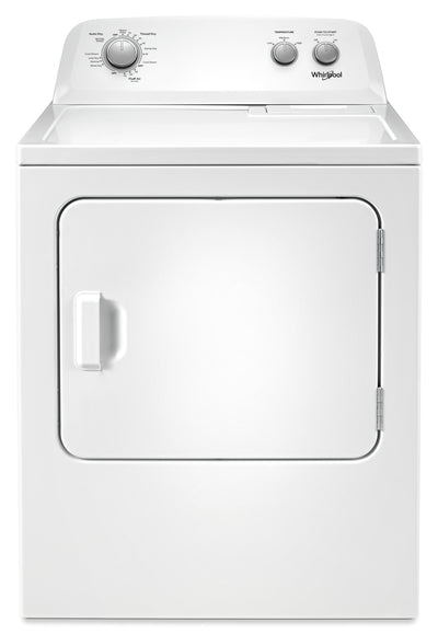 Whirlpool 7.0 Cu. Ft. Electric Dryer – YWED4850HW|Sécheuse électrique Whirlpool de 7,0 pi3 – YWED4850HW|YWED4850
