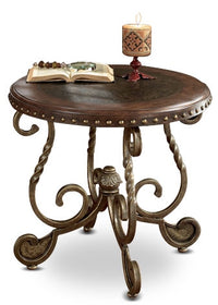 Cordoba End Table – Dark Brown
