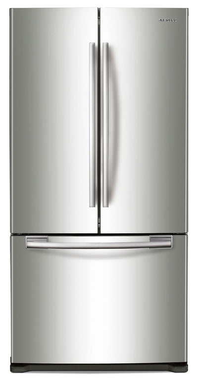 Samsung 17.5 Cu. Ft. Counter-Depth French-Door Refrigerator - RF18HFENBSR - Refrigerator in Stainless Steel