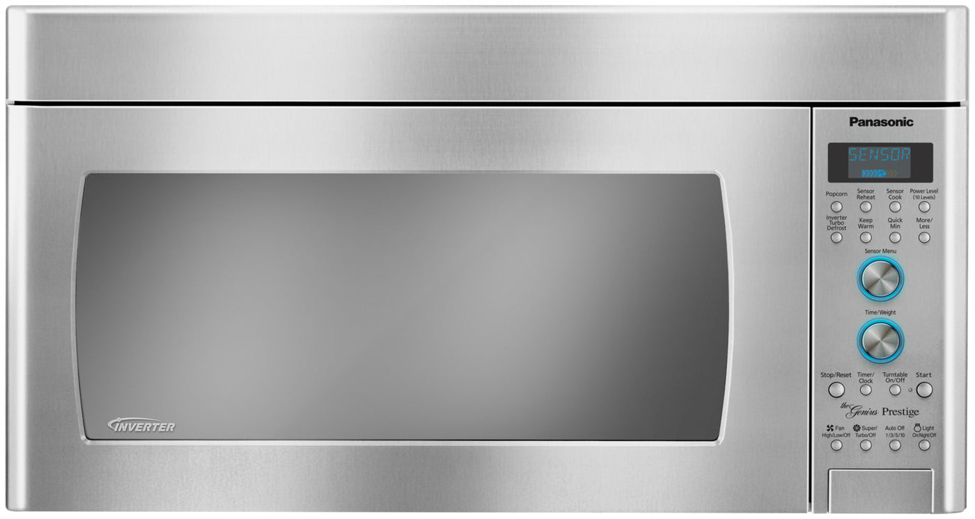 Panasonic 2 0 Cu  Ft  Inverter® Over-the-Range Microwave - Stainless Steel