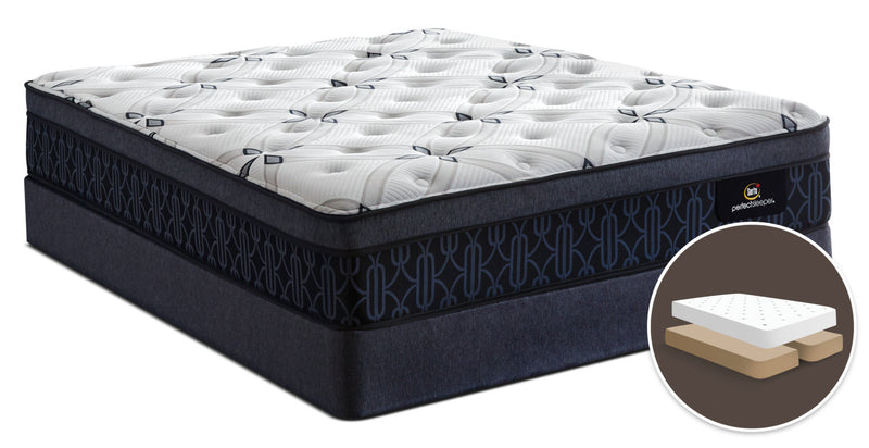 Serta Perfect Sleeper® Watson Firm Euro-Top Split Queen Mattress Set|Ensemble matelas ferme à Euro-plateau divisé Watson Perfect Sleeper de Serta pour grand lit