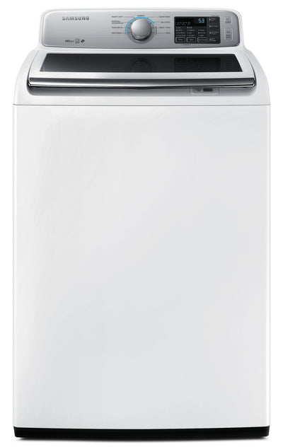 Samsung 5.2 Cu. Ft. Top-Load Washer with Large Capacity - WA45N7150AW/A - Washer in White