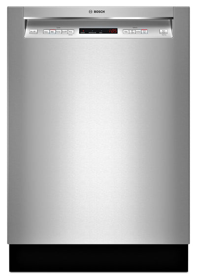 Bosch 300 Series Recessed Handle Built-In Dishwasher – SHEM63W55N - Dishwasher in Stainless Steel