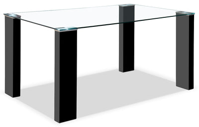 Milton Dining Table – Black|Table de salle à manger Milton - noire|MILTBDTL