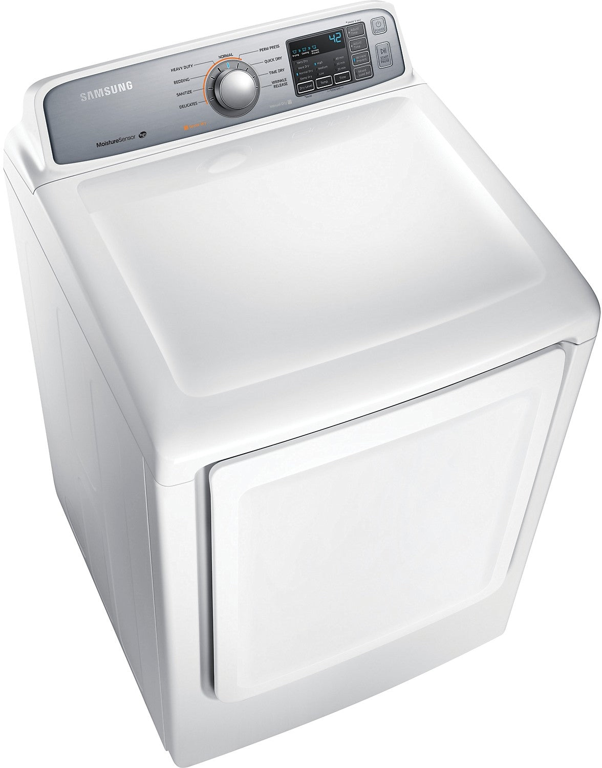 Samsung 7 4 Cu  Ft  Extra-Large Capacity Electric Dryer - White