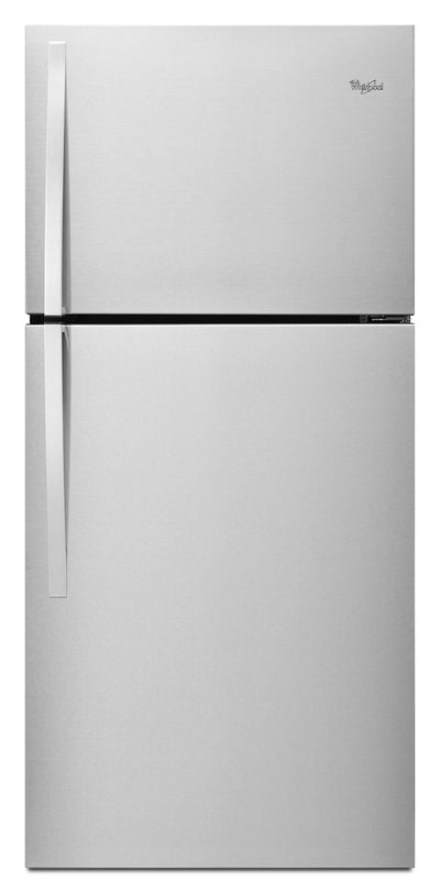 Whirlpool 19.2 Cu. Ft. Top-Freezer Refrigerator – WRT549SZDM - Refrigerator in Stainless Steel